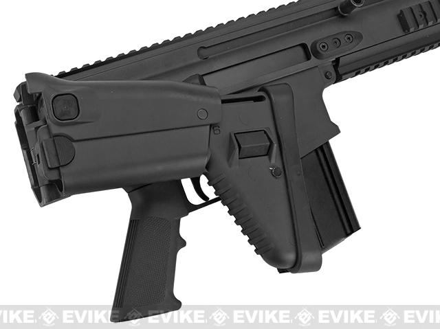 z FN Herstal Full Metal SCAR Heavy CQC Airsoft AEG Rifle by Softair - Black
