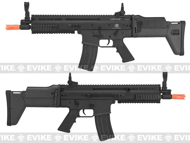 z FN Herstal Licensed SCAR-L Airsoft AEG Rifle by Softair/Cybergun - Black