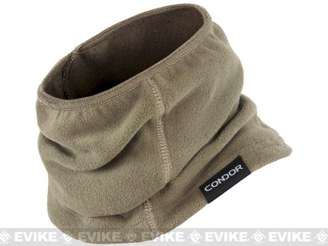 Condor Tactical Fleece Thermo Neck Gaiter - Tan