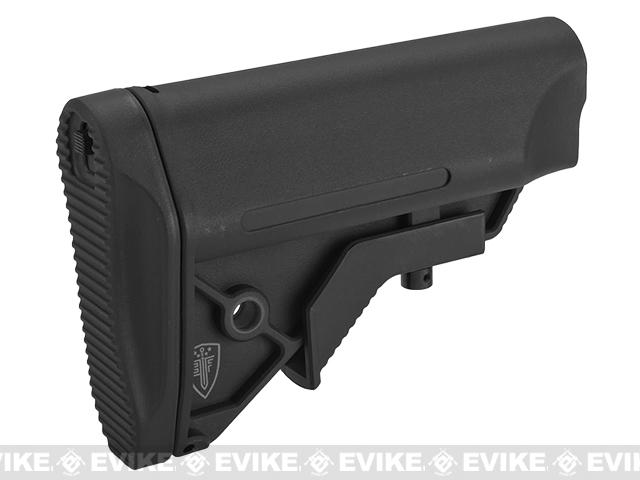 Elite Force Next-Gen CQB/CQC Crane Stock for Airsoft Rifles - Black (Commercial Spec.)