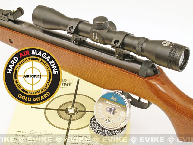 Ruger Air Hawk .177 cal Break Barrel Air Rifle with 4x32 Scope Kit by Umarex (.177 cal AIRGUN NOT AIRSOFT)
