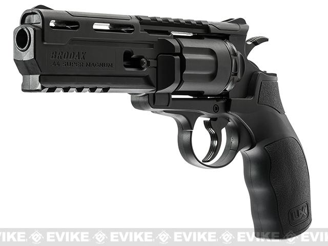 Umarex Brodax .177 CO2 Powered Revolver Airgun - Black (.177 cal AIRGUN NOT AIRSOFT)