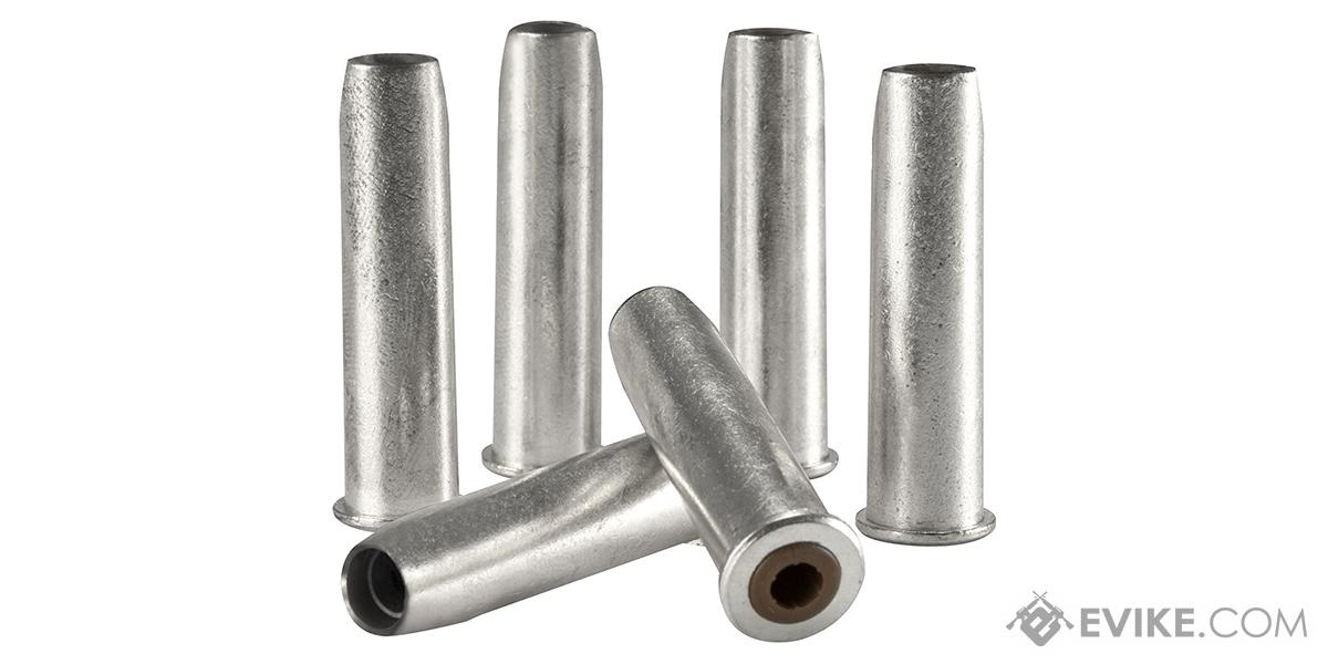 Brass Cartridges for Colt Peacemaker .177 Pellet  Airgun Revolver Series by Umarex - Set of 6