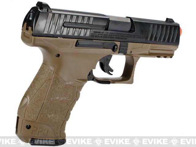 Walther PPQ Special Operations Airsoft Spring Pistol by Umarex - Tan / Black