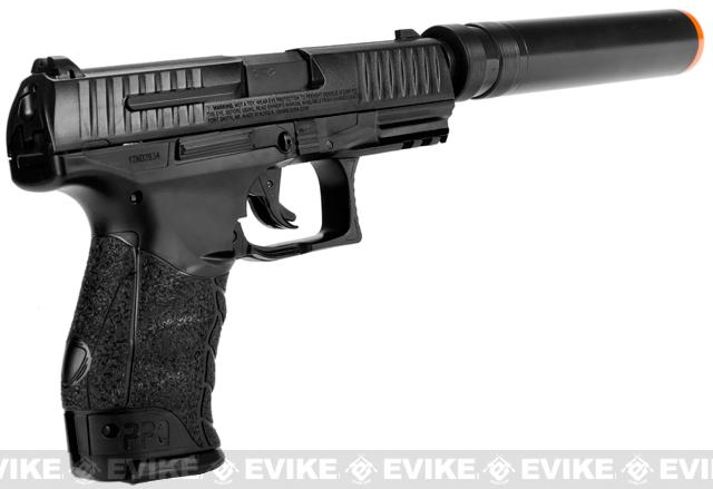 Walther PPQ Special Operations Airsoft Spring Pistol Combat Kit by Umarex - Black