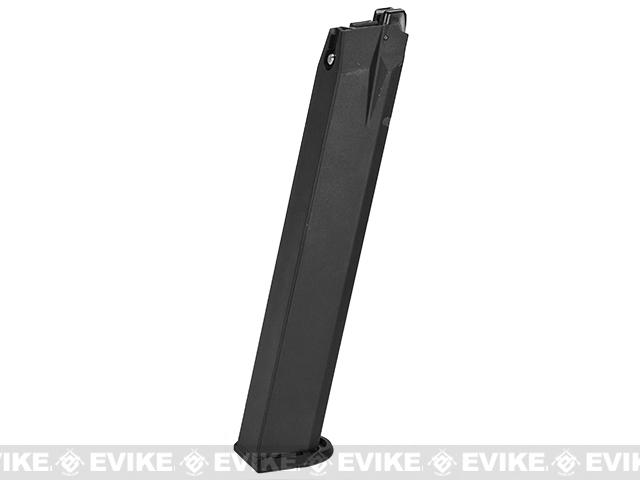 Umarex 45rd Extended High Cap Magazine for Walther PPQ VFC M&P9 SAI EMG Airsoft GBB Pistols