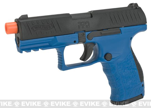 Walther PPQ GBB Tac Airsoft GBB Pistol by Umarex Elite Force - LE Blue