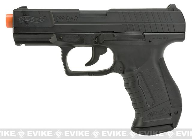 Umarex Walther Gen. 2 P99 CO2 Blowback Airsoft Pistol - 2 Magazine Package