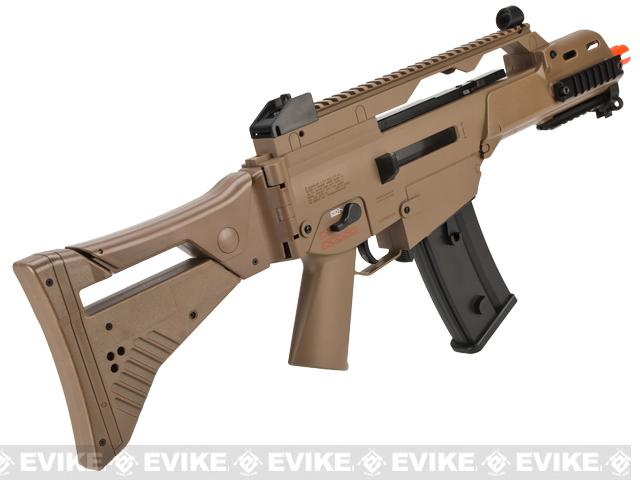 H&K Licensed G36C Dual-Power Airsoft AEG / Spring Rifle by Umarex - Dark Earth