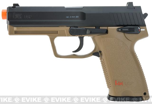 Heckler and Koch USP CO2 Powered Non-Blowback Airsoft Pistol byUmarex - Dark Earth