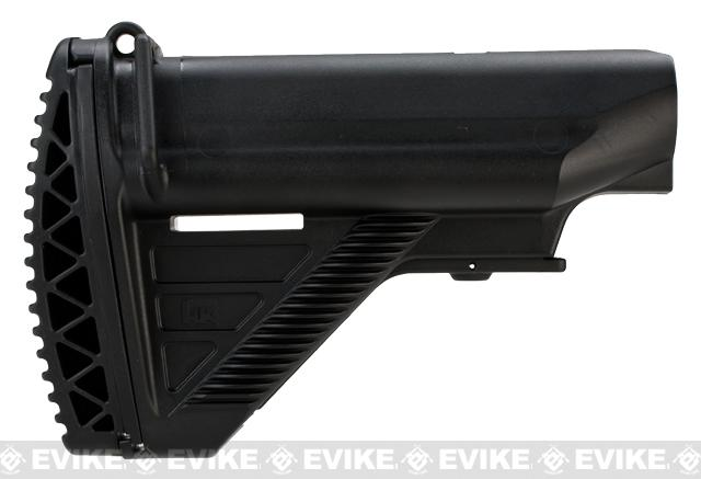 Umarex H&K 416 E1 Retractable Stock for 416 Series Airsoft Rifles - Black