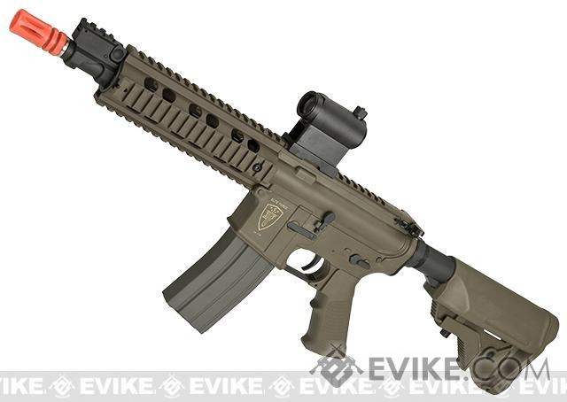New 2015 Elite Force CQB Competition M4 Airsoft AEG Rifle - Flat Dark Earth
