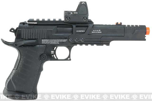 Elite Force Competition Race Gun CO2 Blowback Airsoft Gun - Black