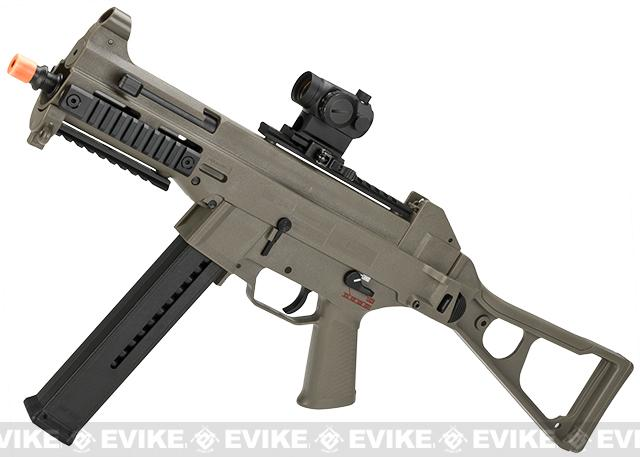 Bone Yard - H&K Evike Exclusive Desert Storm Edition UMP Airsoft AEG Rifle with metal gearbox by Umarex (Store Display, Non-Working Or Refurbished Models)