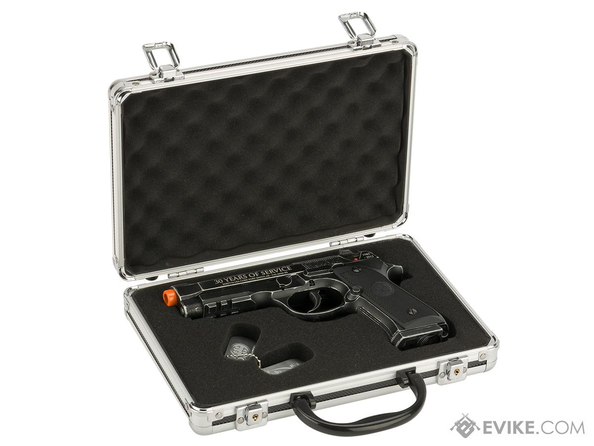Beretta 30th Anniversary Limited Edition M92 A1 Co2 Powered Blowback Airsoft Pistol by Umarex  with Carrying Case - Semi / Full-Auto