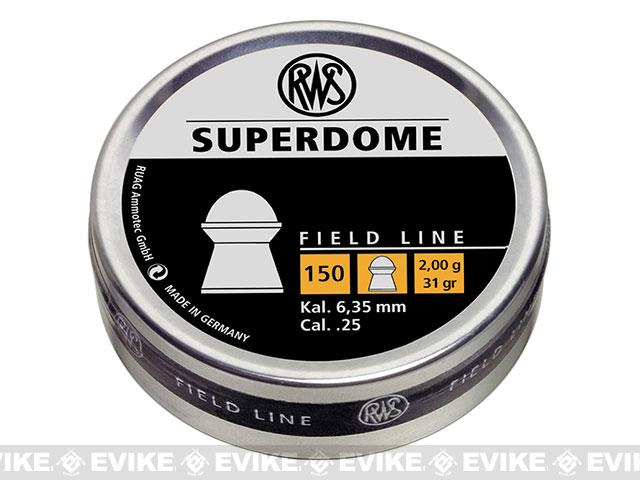 RWS Hobby Superdome .25 cal. Pellets - 150 count