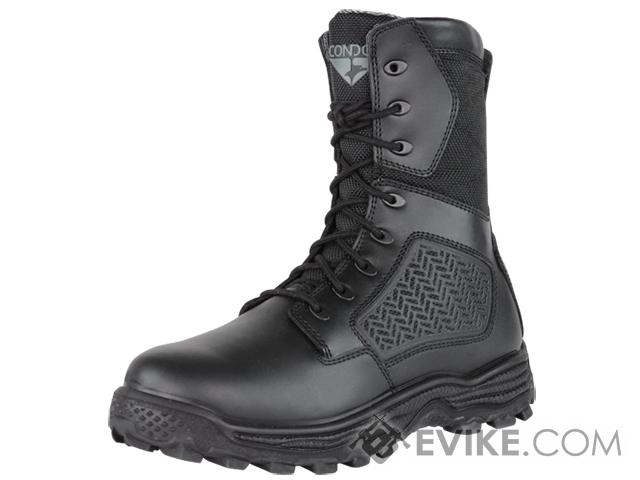 Condor Murphy 9 Side Zip Tactical Boot - Black (Size: 11)