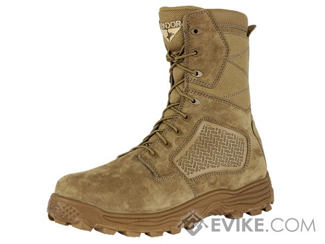 Condor Murphy 9 Side Zip Tactical Boot - Coyote (Size: 12)