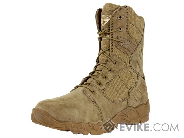 Condor Richards 9 Side Zip Tactical Boot - Coyote (Size: 10.5)