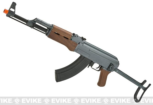 Pre-Order ETA August 2016 CYMA CM028S AK47S Under-Folding Airsoft AK47 AEG Rifle - Simulated Wood Furniture