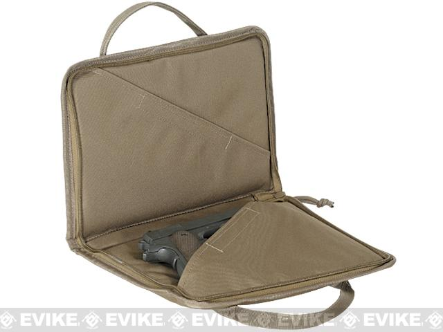 Voodoo Tactical Padded Pistol Case w/ Mag Pouches - Coyote Brown