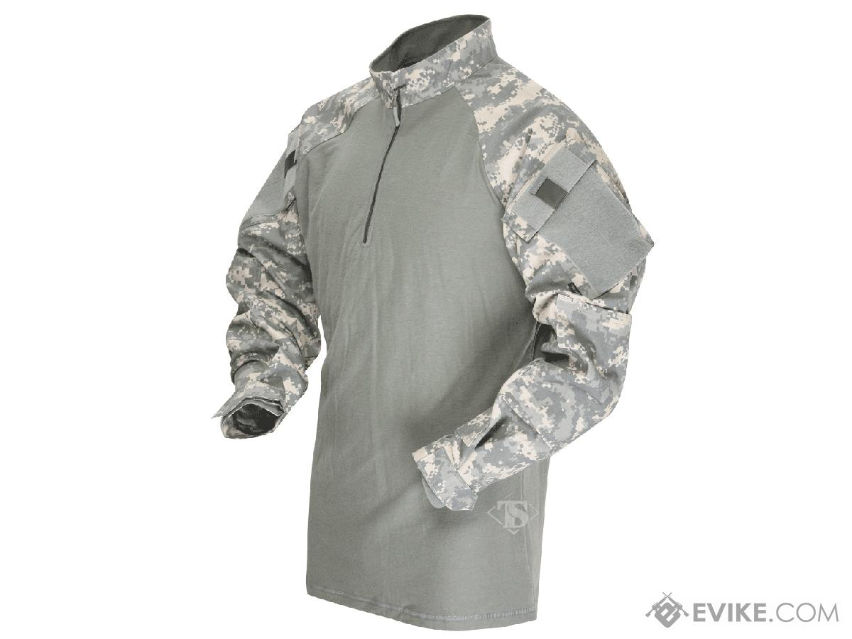 Tru-Spec Tactical Response Uniform 1/4 Zip Combat Shirt - ACU (Size: Small)