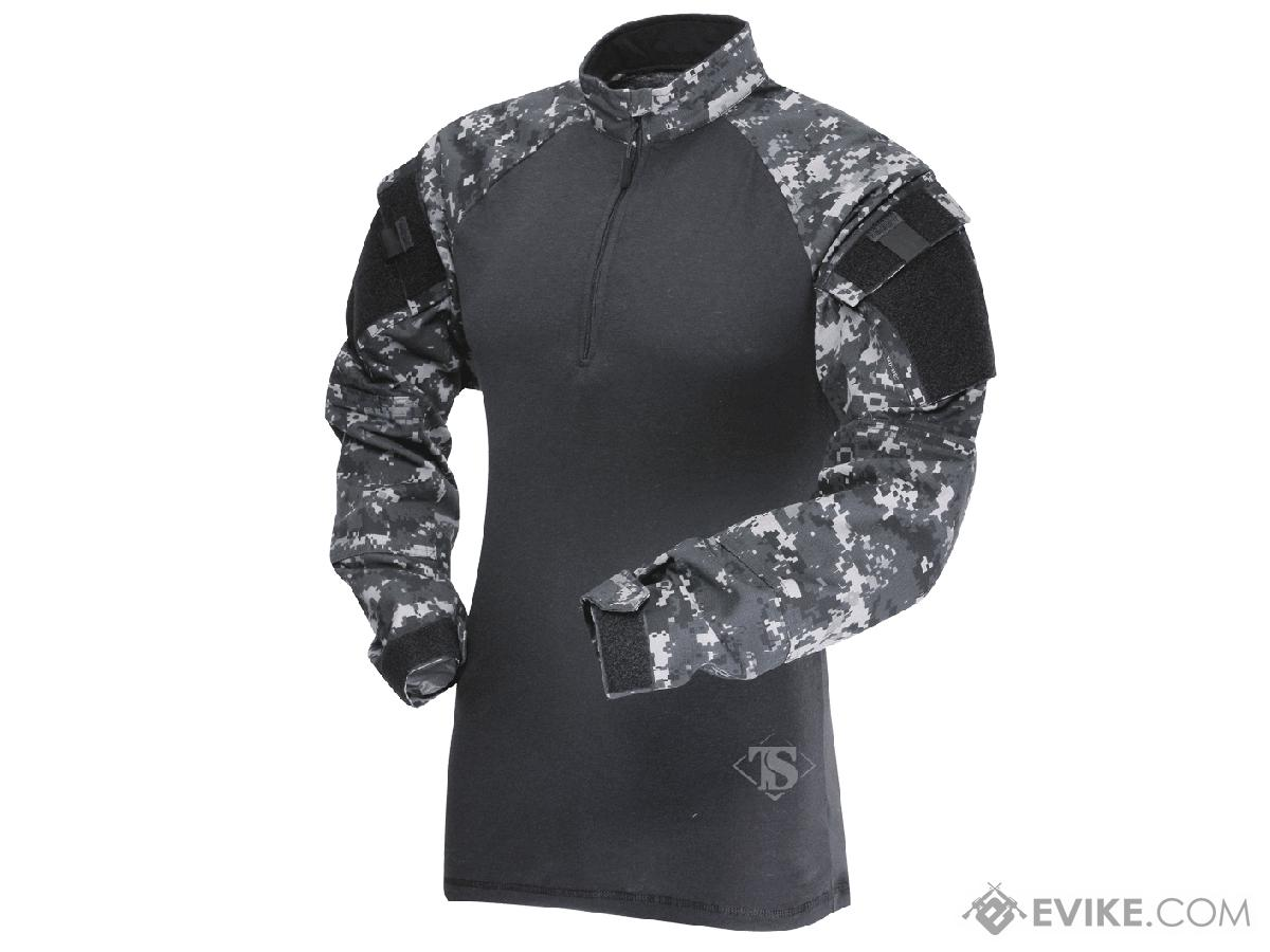 Tru-Spec Tactical Response Uniform 1/4 Zip Combat Shirt - Urban Digital (Size: Small)