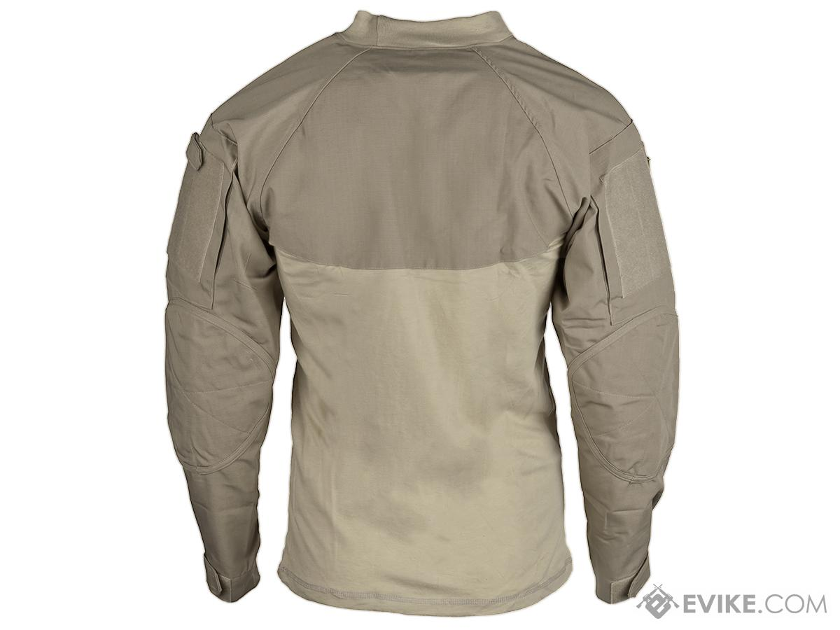 Tru-Spec Tactical Response Uniform  Combat Shirt - Khaki (Size: Small)
