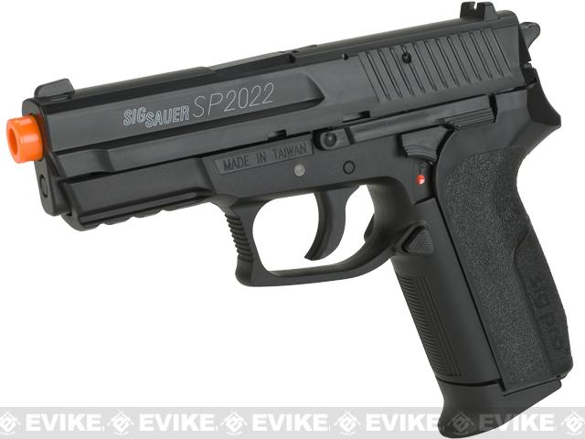 Swiss Arms Licensed Sig Sauer SP2022 CO2 Airsoft Gas Non-Blowback Pistol