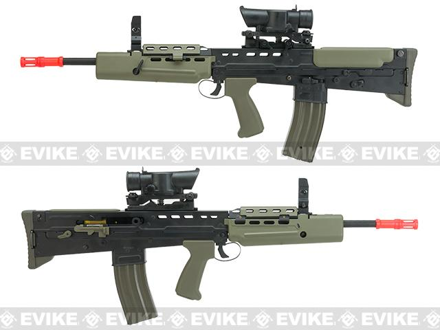 Evike Custom Shop Class II Full Steel Metal Body R85A1 Full Size Airsoft AEG Rifle w/ Scope