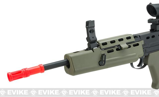 Pre-Order ETA January 2017 Evike Custom Shop Class II Full Steel Metal Body R85A1 Full Size Airsoft AEG Rifle w/ Scope