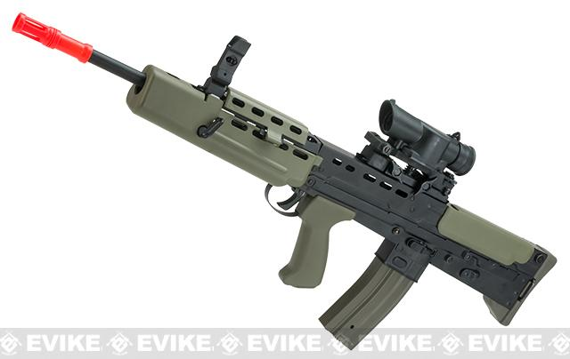Pre-Order ETA September 2017 Evike Custom Shop Class II Full Steel Metal Body R85A1 Full Size Airsoft AEG Rifle w/ Scope