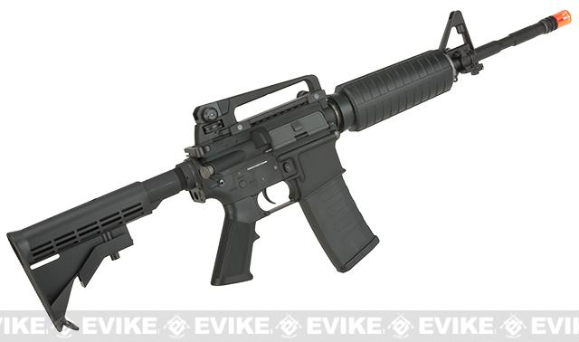 KWA Full Metal KM4A1 Airsoft AEG Rifle - (Package: Add 11.1V 20C 1600mAh LiPo Battery + Charger)