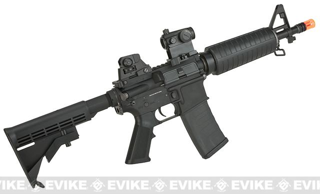 Pre-Order ETA October 2016 KWA Full Metal KM4 CQB Airsoft AEG Rifle - (Package: Rifle)