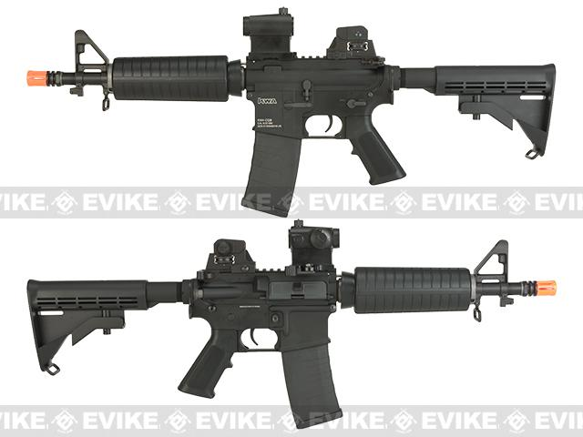 Pre-Order ETA August 2016 KWA Full Metal KM4 CQB Airsoft AEG Rifle - (Package: Add 11.1v 1600mAh LiPo Battery + Smart Charger)
