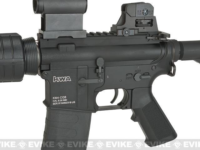 Pre-Order ETA August 2016 KWA Full Metal KM4 CQB Airsoft AEG Rifle - (Package: Rifle)