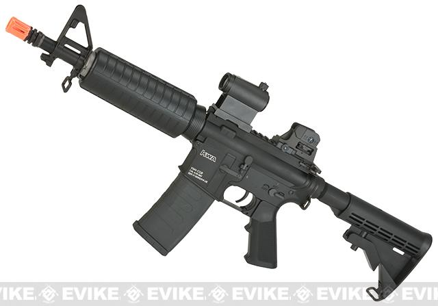 z KWA Full Metal KM4 CQB Airsoft AEG Rifle - (Package: Add 11.1v 1600mAh LiPo Battery + Smart Charger)