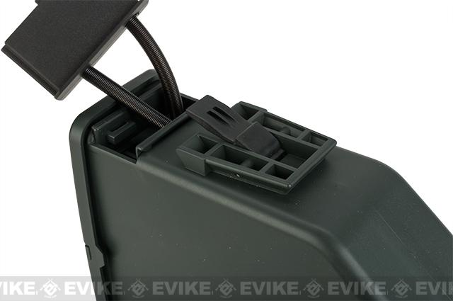 A&K 2500 Round Box Magazine for Airsoft M249 AEG Light Machine Guns