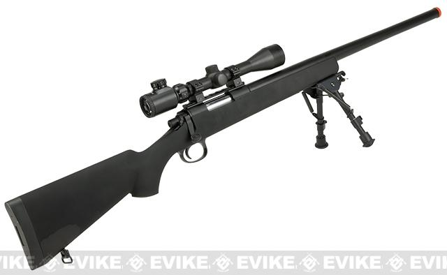 JG VSR-10 / BAR-10  Airsoft Bolt Action Sniper Rifle w/ Metal Trigger Box - 450 FPS (Package: Rifle Only)