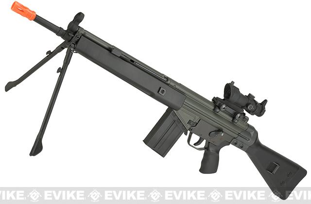 Pre-Order ETA May 2017 JG T3-K1 Full Size Lipo Ready Airsoft AEG Rifle w/ 400 FPS Metal Gearbox - (Package: Rifle)