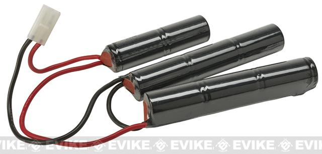 Matrix Airsoft Crane Stock Large Type Battery - 9.6V NiMh 4500mAh