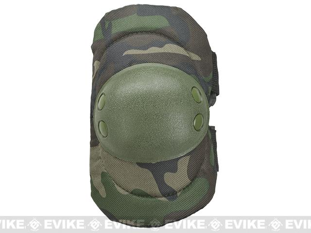Avengers Special Operation Tactical Knee Pad / Elbow Pad Set (Color: Woodland Camo)