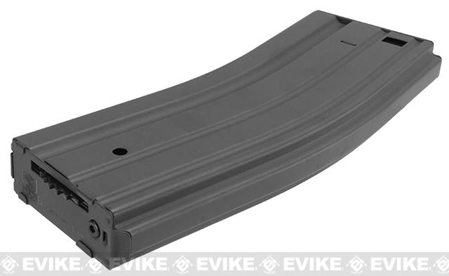 Matrix Universal Feeding Full Metal 500rd Hi-Cap Magazine for M4 M16 Airsoft AEG - Wolf Gray