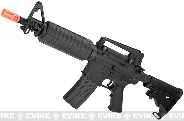 A&K M4 Commando Airsoft AEG Rifle w/ Lipo Ready Metal Gearbox