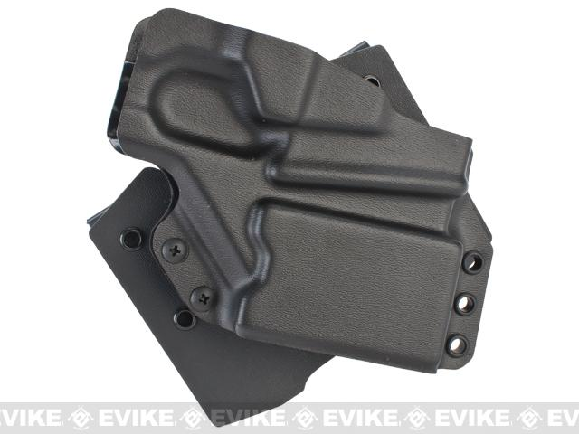 z Redline Pro Gear Special Application Rifle Retention Platform for M4 / M16 Rifles - Real Steel Kydex Version