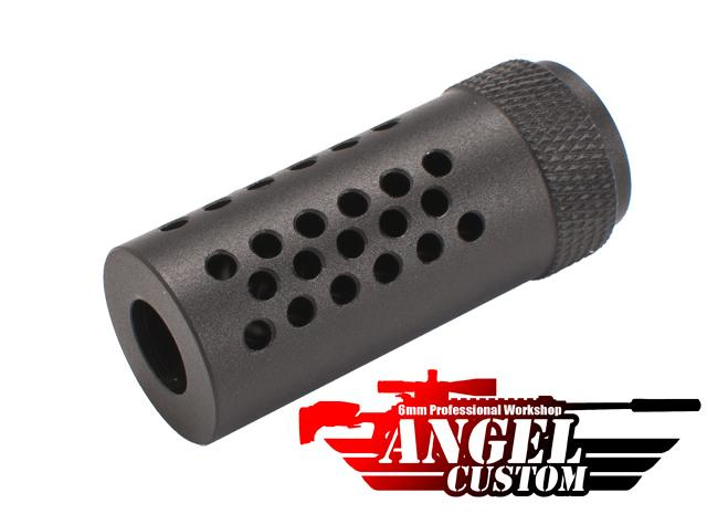 Angel Custom 14mm- CNC Special Force-16 Type Airsoft Flashhider (14mm-)