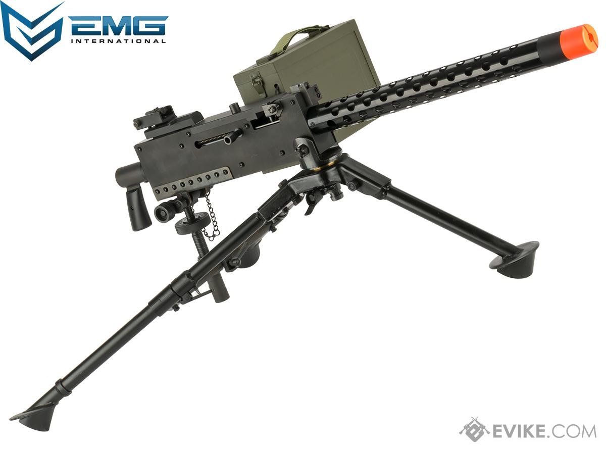 EMG M1919 WWII American Automatic Squad Support Weapon Airsoft AEG (Package: Gun, Tripod and Pintle Mount)
