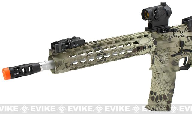 APS Silver Edge Gearbox Full Metal 10 M4 Airsoft AEG Rifle - Kryptek Highlander