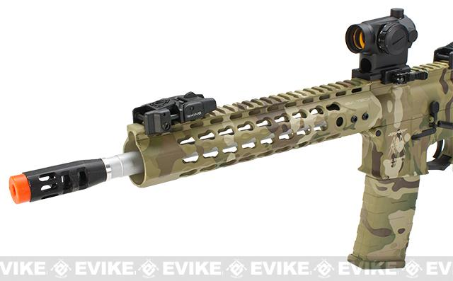 APS Silver Edge Gearbox Full Metal 10 M4 Airsoft AEG Rifle - Multicam