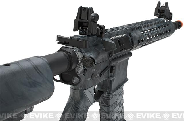 APS Silver Edge Gearbox Full Metal 10 M4 Airsoft AEG Rifle - Kryptek Typhon